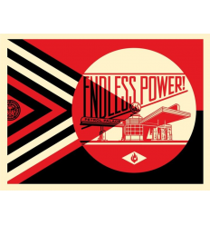 Print ENDLESS POWER by SHEPARD FAIREY alias OBEY
