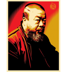 Print AI WEIWEI X COST OF EXPRESSION by SHEPARD FAIREY alias OBEY