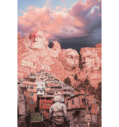 Print MOUNT RUSHMORE by SCOTT LISTFIELD
