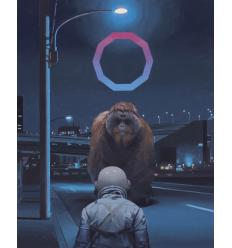 Print Orangutan by SCOTT LISTFIELD