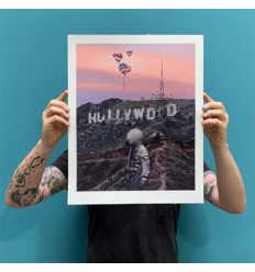 Print HOLLYWOOD FOREVER by SCOTT LISTFIELD