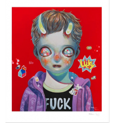 Print CHILDREN OF THIS PLANET by HIKARI SHIMODA