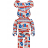 Sculpture bearbrick 1000% Andy Warhol Brillo [Pre-Order]