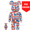 Sculpture bearbrick 400% & 100% Andy Warhol Brillo [Pre-Order]