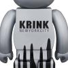 Sculpture bearbrick 1000% Krink [Pre-Order]