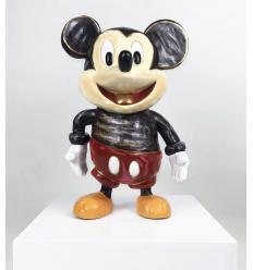 Sculpture What's Up Bronze Mickey Sculpture by Katherine Bernhardt