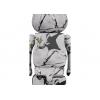 Sculpture Bearbrick 400% & 100% BANKSY FLOWER BOMBER