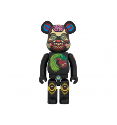 Sculpture bearbrick 1000% KEIICHI TANAAMI BLACK