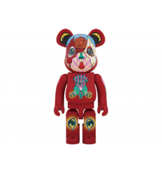 Sculpture bearbrick 1000% KEIICHI TANAAMI RED