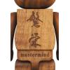 Sculpture bearbrick 400% Mastermind KARIMOKU