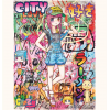 Print CITY GIRL'S NEW LIFE by MR.