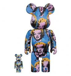 Sculpture 400% & 100% Bearbrick Andy Warhol Marilyn Monroe[PRE-ORDER]
