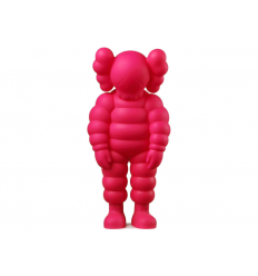 Sculpture WHAT PARTY PINK by KAWS