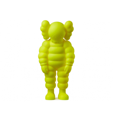 Sculpture WHAT PARTY YELLOW by KAWS