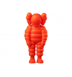Sculpture WHAT PARTY ORANGE by KAWS