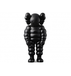 Sculpture WHAT PARTY BLACK by KAWS