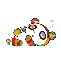 Print PANDA IS SLEEPY AND SLEEPY by TAKASHI MURAKAMI