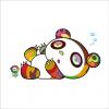 Print PANDA IS SLEEPY AND SLEEPY by TAKASHI MURAKAMI