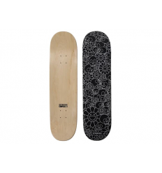 Skateboard Skull & Flower Black by TAKASHI MURAKAMI