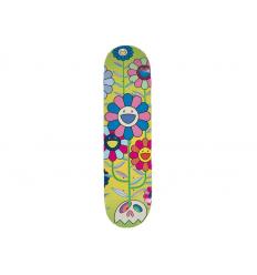 Skateboard Flower Cluster by TAKASHI MURAKAMI