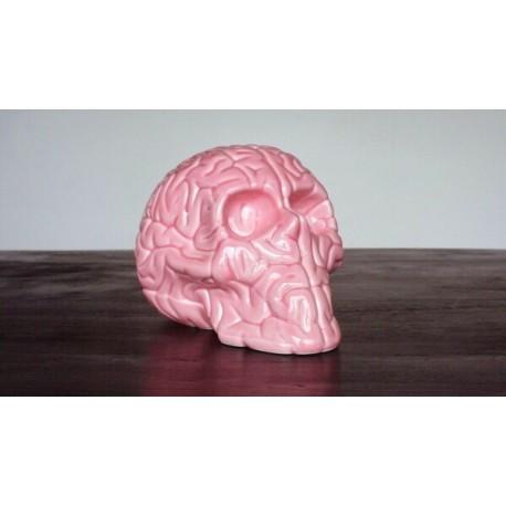 Skull Brain 'PINK' by Emilio Garcia