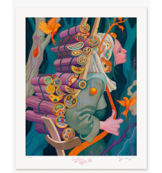 Print KINDLING III by JAMES JEAN