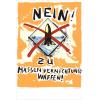 Print Nein ! Stop au nucléaire by Peter Klasen