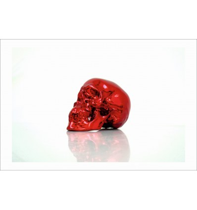 Print Skull RED CHROME by NooN