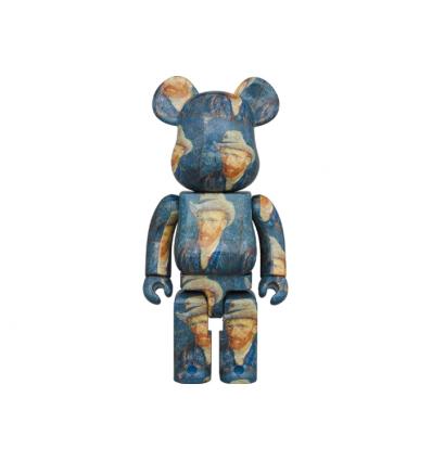 Sculpture Bearbrick 1000% Van Gogh Museum Self Portrait [PREORDER]