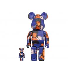 Sculpture Bearbrick 400+100% Andy Warhol's Muhammad Ali [PREORDER]