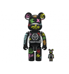 Sculpture bearbrick 400+100% Philipp Plein