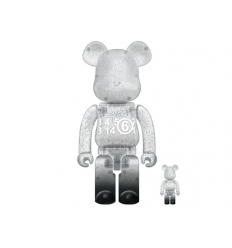 Sculpture bearbrick 400+100% MM6 Maison Margiela