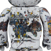 Sculpture bearbrick 400+100% Jackson Pollock V3 Splash [PREORDER]