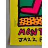 Print MONTREUX JAZZ FESTIVAL 1983 GREEN par ketih Haring