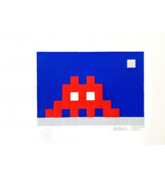 Print Home Moon by Invader