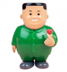 Sculpture K-LOVE (GREEN) by JOAN CORNELLA