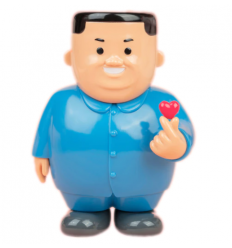 Sculpture K-LOVE (BLUE) by JOAN CORNELLA