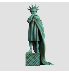 culpture Liberty Girl Freedom by Brandalised x Banksy [Pre-Order]