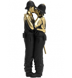 Sculpture Kissing Coppers by Brandalised x Banksy [PRE ORDER]