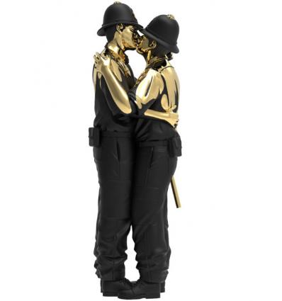Sculpture Kissing Coppers by Brandalised x Banksy [PRE ORDER]