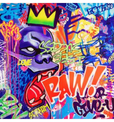 Print RAW ! by Richard Orlinski