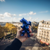 Sculpture Bear Spirit Blue Edition by Richard Orlinski
