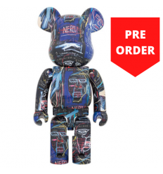 Sculpture Bearbrick 1000% Jean-Michel Basquiat V7