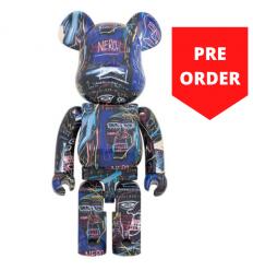 Sculpture bearbrick 1000% set - Jean-Michel Basquiat V7