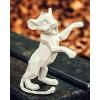 Sculpture White Simba by Richard Orlinski
