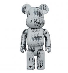Sculpture bearbrick1000% Andy Warhol Elvis Presley[PREORDER]