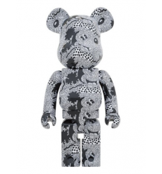 Sculpture bearbrick 1000% KEITH HARING MICKEY MOUSE