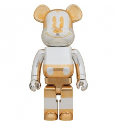 Sculpture bearbrick1000% V1 GOLD SORAYAMA X DISNEY