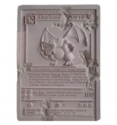 Sculpture CRYSTALIZED CHARIZARD CARD Pink by DANIEL ARSHAM