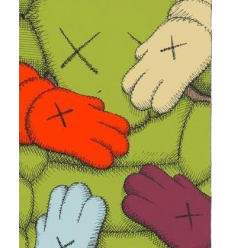 Art Print Urge 9 by KAWS